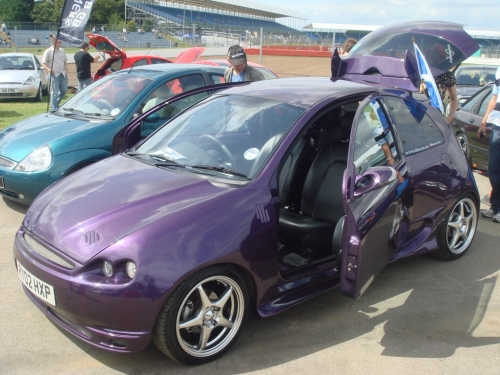 Iain Taylor Suicide Doors on a KA!